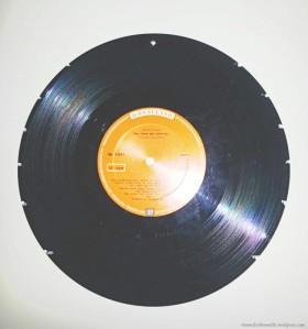 DIY, Upcycling, Vinyl, Orringe, Aufbewahrung, Halter, Dremel