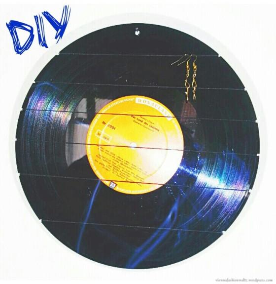 DIY, Upcycling, Vinyl, Orringe, Aufbewahrung, Halter, Vienna Fashion Waltz