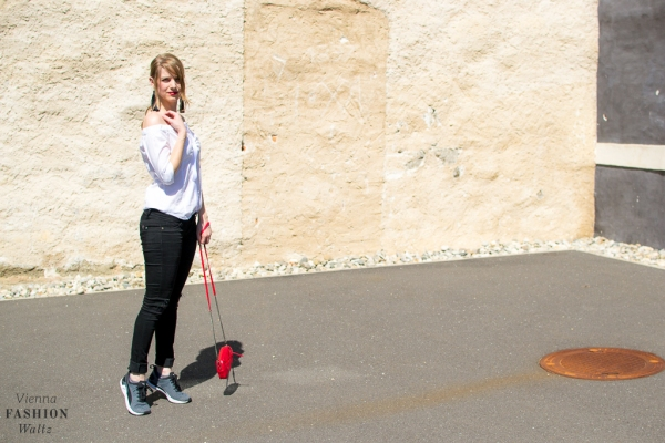 Lifestyleblog Wien Österreich www.viennafashionwaltz.com off shoulder bluse diy tassel ohrringe (1 von 23)